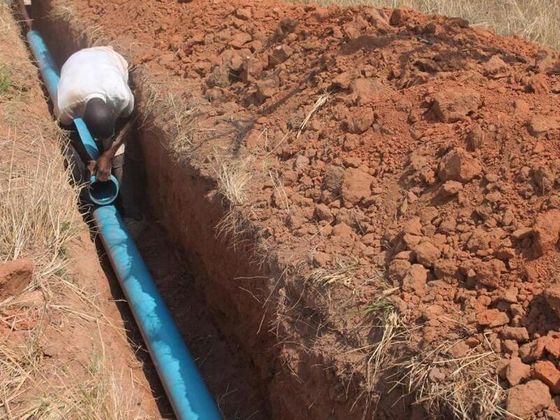 глубина размещения канализационных труб