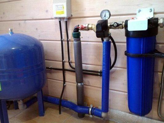 давление в системе водоснабжения
